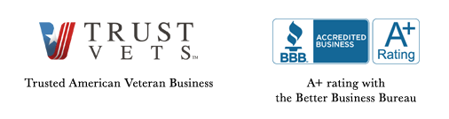 Better Business Bureau A+ Rated and Trusted American Vets Business