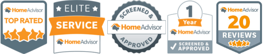 Award Winning Master Electrician through Home Advisor